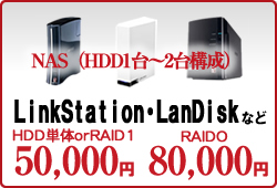 LinkStation・LanDisk